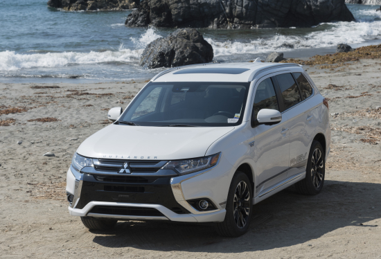 2018 Mitsubishi Outlander PHEV Press Launch